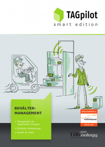 TAGnology TAGpilot Behältermanagment Container Warenwirtschaft Lager Spedition Inventur Smart Edition Deutsch 2.0
