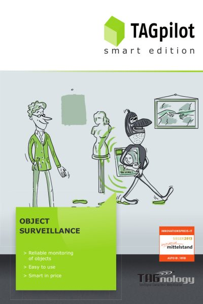 TAGnology Smart Editions RFID NFC Object Surveillance museum security